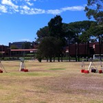GNSS Antenna Array at the Curtin University Bentley Campus