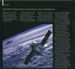 satellite integration