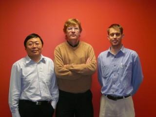 A/Prof Jinling Wang and Nathan Knight